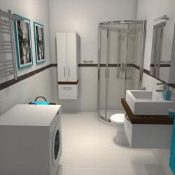 niedroga łazienka