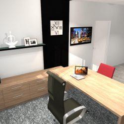 biura w Linowcu -Gabinet szefa