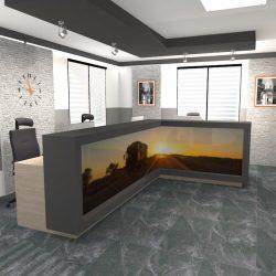 Biura borzechowo sala sprzedaży