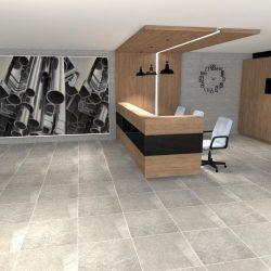 biura w Linowcu - Sala sprzedaży