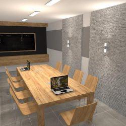 biura w Linowcu - Sala konferencyjna