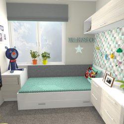 pokój chłopca i dziewczynki