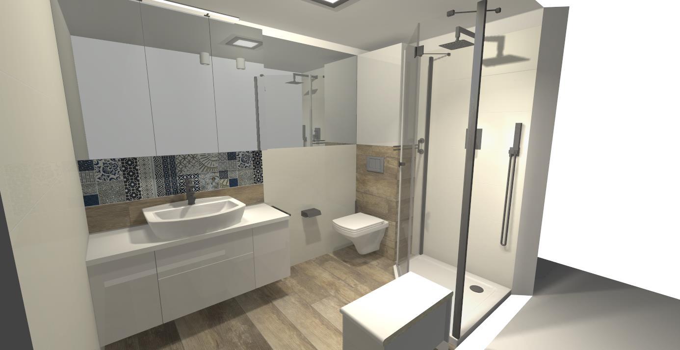 Projekty łazienek M Studio Meble Na Wymiar