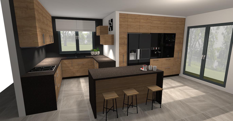 Projekty Kuchni M Studio Meble Na Wymiar